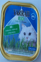 Yarrah-Cat-Chicken-Makrele 16x100 g Aluschale